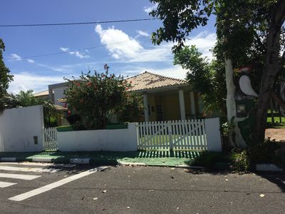 Photo for House 3 Bedrooms Guarajuba - Cond. Paraíso dos Lagos, wall with club with air!