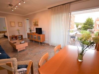 Photo for APARTMENT FOR FAMILIES WITH POOL IN CALAFELL, 6 PEOPLE. PARQUINK