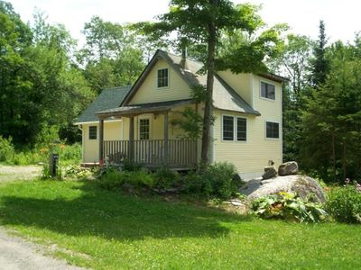 Photo for Cozy Cottage; Lake with Sandy Beach and Bottom, Picnic Area on Premises