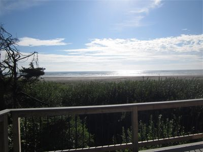 Photo for On the beach! Get away to the beach in beautiful Moclips - dogs welcome!