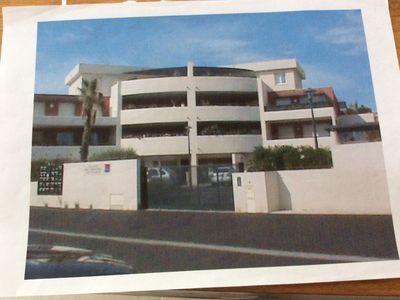 Photo for Comfortable 2 room apartment in Agde (34) 40 m2, terrace 26 m2
