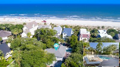 2 Sea Spray-Just Steps to the Beach 2nd Row Ocean w/ Hot Tub & Pool