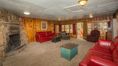 "Photo for Whispering Pine Cabins ""Coyote"" - Hot Tub - Fireplace - Upper Canyon"