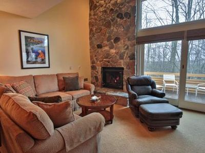 Next to Skiing and Golf. Trout Creek Condo #148 - 2 Bedroom Loft, 2 Baths with Kitchen, Fireplace