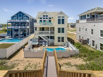 Photo for Majestic Palm #1 | Oceanfront | Private Pool, Hot Tub