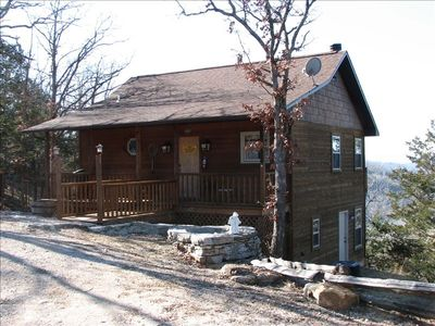 Photo for Can-U-Canoe Riverview  3 Bedroom Cabin with Great River View