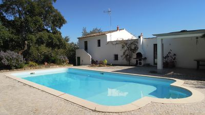Photo for A Charming And Spacious Three Bedroom Hill Top Cottage, Private Pool
