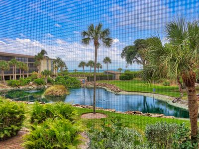 Attractively, Updated, Gulf View, Two Bedroom Condo - Sand Pointe 218