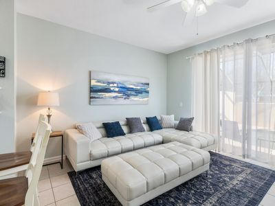 Photo for 3 Bed Townhome Newly Furnished with Private Screened Pool