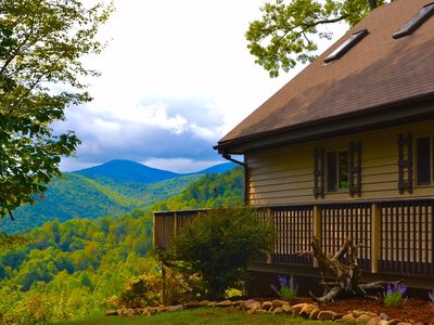 Photo for Private Cabin Near Boone - Great View - Hot Tub & Hiking/Horse Trails