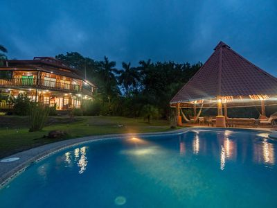 Photo for UNIQUE LUXURY VILLA & BEST PANORAMIC SUNSET VIEW IN MAL-PAIS WITH TERRIFIC VIEWS