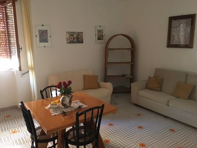Photo for Gallipoli large apartment with terrace just steps from the sea