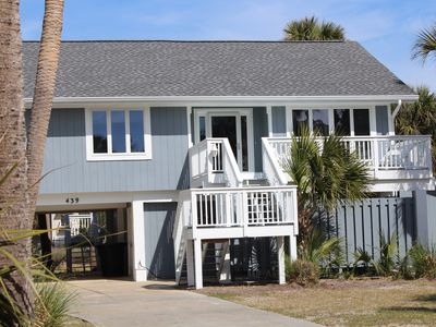Photo for Best Location For Both Beach and Creek! - Dock, Golf Cart, 2 Guest Cards Incl'd
