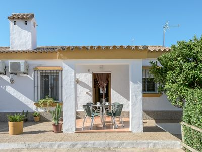 "Photo for Beautiful Accommodation ""Casa Clavel"" with Air Conditioning, Terrace & Wi-Fi; Parking Available"