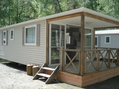 Photo for Mobilhome Esprit Montagne 4 to 6 people