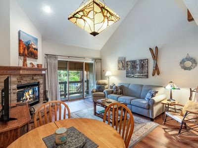 Photo for Serene, dog-friendly retreat w/ mountain view & shared hot tub - near Purgatory