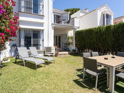 Photo for Holiday home with private garden 5 minutes from puerto bañus and the beach
