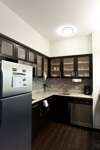 Prepare meals in the comfort of your very own fully-equipped kitchen.