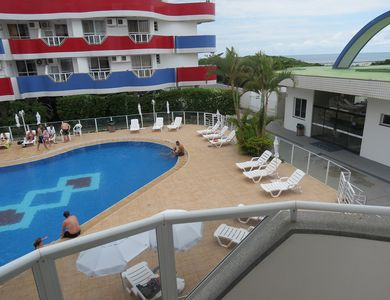 Photo for 3 Bedroom Apartment Pool View! Breakfast and beach service!