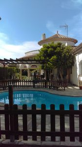 Photo for large Spanish house near creeks with pool, 6 bedrooms