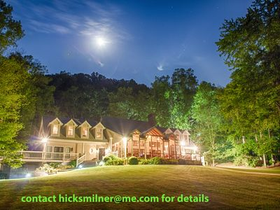 Photo for Private 6 Bedroom Luxury Lake-House Property