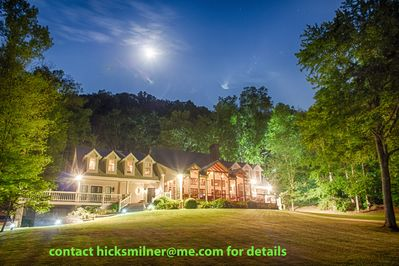 Renlim Retreat front of lake house -- hicksmilner@me.com for dates and pricing