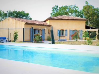 Photo for Villa ground floor, 4 bedrooms, swimming pool, near the beaches of the Gulf of Saint Tropez