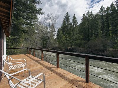 Fish,hike, relax at this creekfront property.
