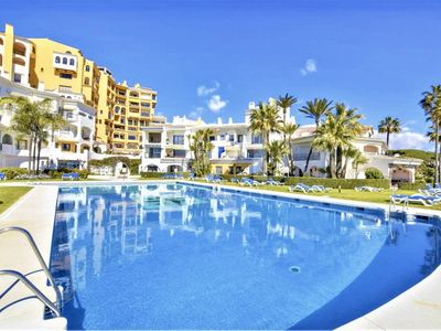 Photo for Cabopino Beachfront & Poolside Apartment