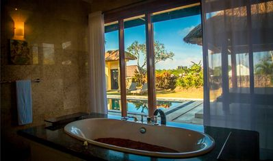 Photo for One Bedroom Villa, Great Location situated in the hills above Nusa Dua