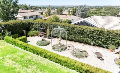 Relax surrounded by established, formal and private gardens