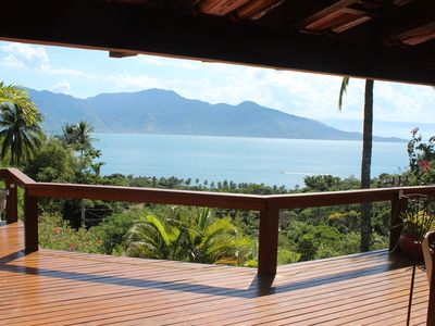 Photo for Spectacular view! Rustica Chic Ilhabela!