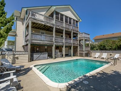 Photo for Summer Place | 325 ft from the beach | Private Pool, Hot Tub
