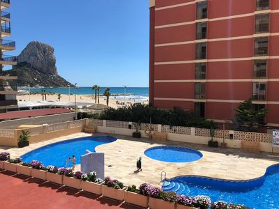 Photo for Beautiful apartment in Calpe with sea views. Ideal to spend your vacations