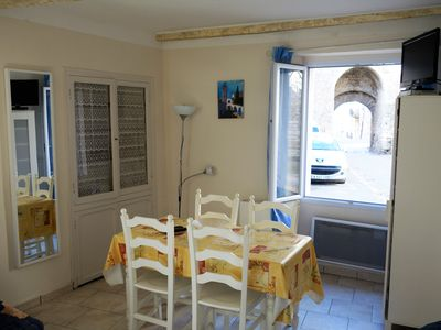 Photo for Studio in Quinson Provençal village on the edge of the Verdon, landscape swimming, kayaking, etc.