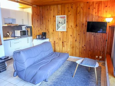 Photo for One bedroom Apartment, sleeps 3 in Sainte-Foy-l'Argentière with WiFi