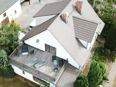 Photo for Large holiday home with roof terrace and big garden with lounge area and grill