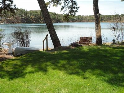 Photo for Remodeled Waterfront Home on Crystal Clear Joseph's Pond