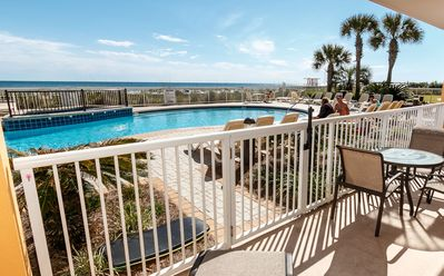 Photo for Azure Oceanfront! 2 King Suites, All Tile, Ground Flr - Direct Pool/BEACH ACCESS