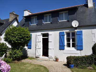 Photo for House 100m Tourony beach with closed garden in TREGASTEL