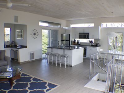 Photo for Fire Island Pines - heated pool, hottub, air con, newly renovated, modern, clean