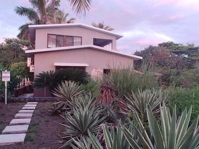 Photo for BEACHFRONT BUNGALOW W/POOL (additional Casita for rent)