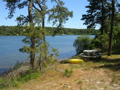 Canoe or picnic by White Pond