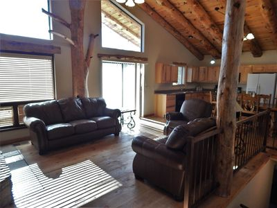 Photo for Easy access and privacy. Relax in in the mountains and enjoy the nature views