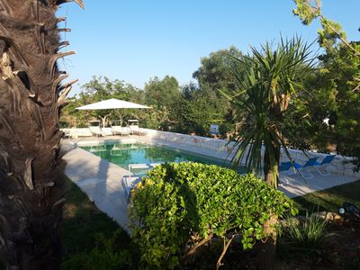 Photo for Number 81 - Trullo near Ostuni, quiet rural area with solar & fenced pool