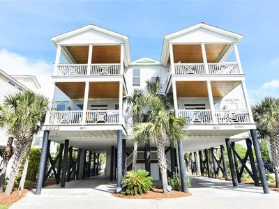 Photo for Laidback Lizard FKA A Beachin House: 6 BR / 6.5 BA  in Garden City, Sleeps 18