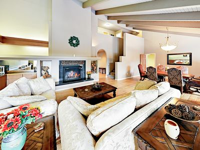 Photo for Beautiful Riverfront Home w/ Private Hot Tub, Wet Bar, Game Room & Dock