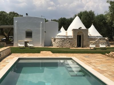 Photo for TRULLO MICHELE WITH BRAND NEW SWIMMING POOL IN THE BEAUTIFUL PUGLIAN COUNTRYSIDE