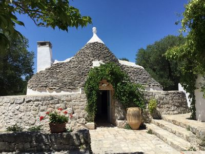 Photo for A few kilometers from Ostuni and Cisternino, Trullo Lavanda