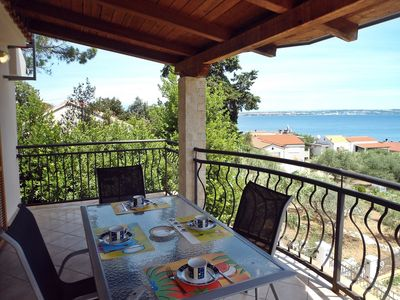 Photo for Holiday House Klarin with Sea View